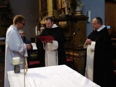 Reception of New Members Reanimates Priestly Fraternity in Bohemia