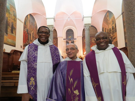 The Second Member of the Priestly Fraternities of St Dominic from Africa makes Profession