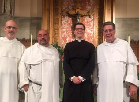 Fr Anthony Strouse makes final profession in the Priestly Fraternity