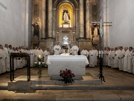 8th Encounter of the Priestly Fraternity of Saint Dominic in Spain and Profession of a New Member