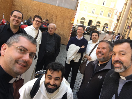 ITALY   Master of the Order Visits the Priests of the Fraternity