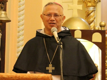 PHILIPPINES   Archbishop Palma becomes first novice of newly erected Chapter of St. Vincent Ferrer