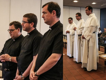 SWITZERLAND   Solemnity of the Trinity Brings Three Secular Priests to the Fraternity