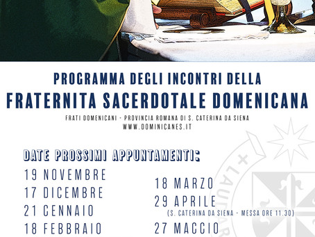 ITALY | Fraternity of Priests Commences another Formation Year