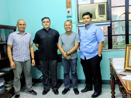 PHILIPPINES   Meeting of the Chapter of Santo Domingo