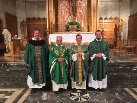 USA   Two Diocesan Priests make Final Promise in the Dominican Fraternity