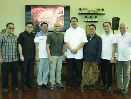 PHILIPPINES   Inaugural Meeting of the National Council and Election of its First President