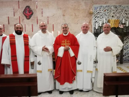 ITALY | Spiritual Exercises of the Priests and Profession of one member