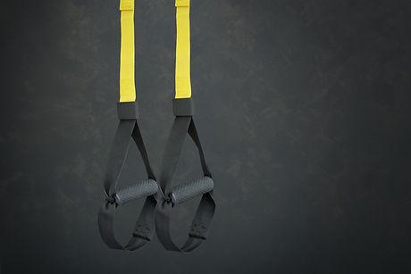 Straps training loop equipment. Black lo
