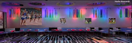 Sportime Bar Deportivo Renders
