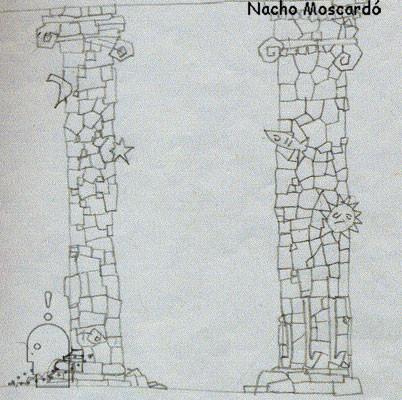 Diseño puertas y columnas