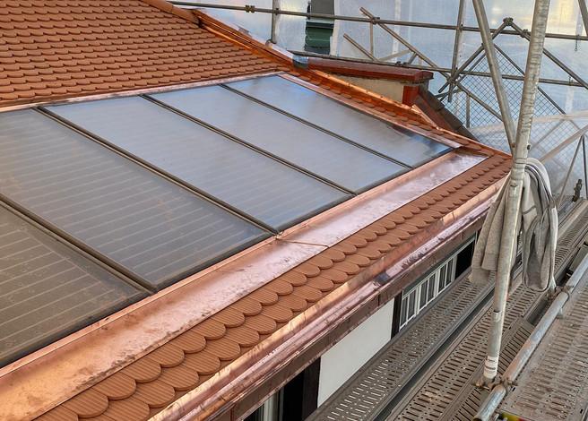 Warens pose panneaux solaires