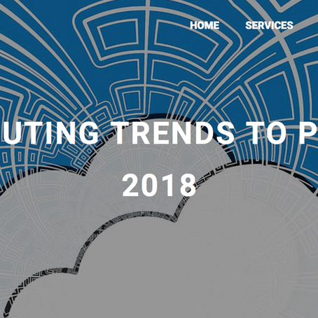 5 CLOUD COMPUTING TRENDS TO PREPARE FOR IN 2018