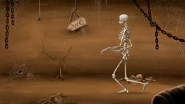 Skelett-Walk