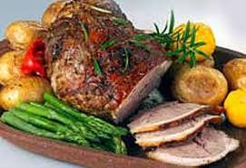 """Roti d""""épaule d'agneau"""