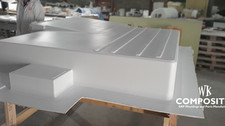 WK COMPOSITES low floor fIBREGLASS mould