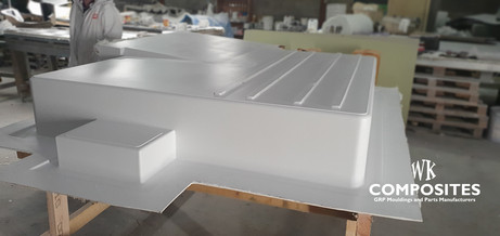 WK COMPOSITES low floor fIBREGLASS mould