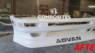 TOYOTA AE86 FRONT BUMPER REPAIR AFTER 2.