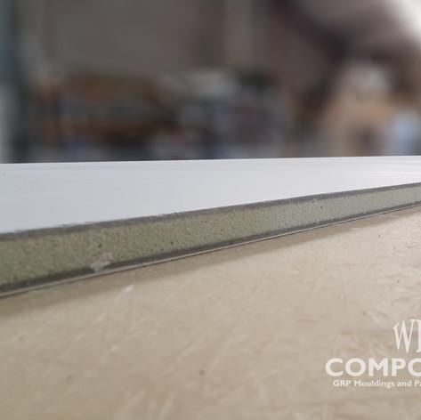 wk composites GRP Fibreglass sandwich PU