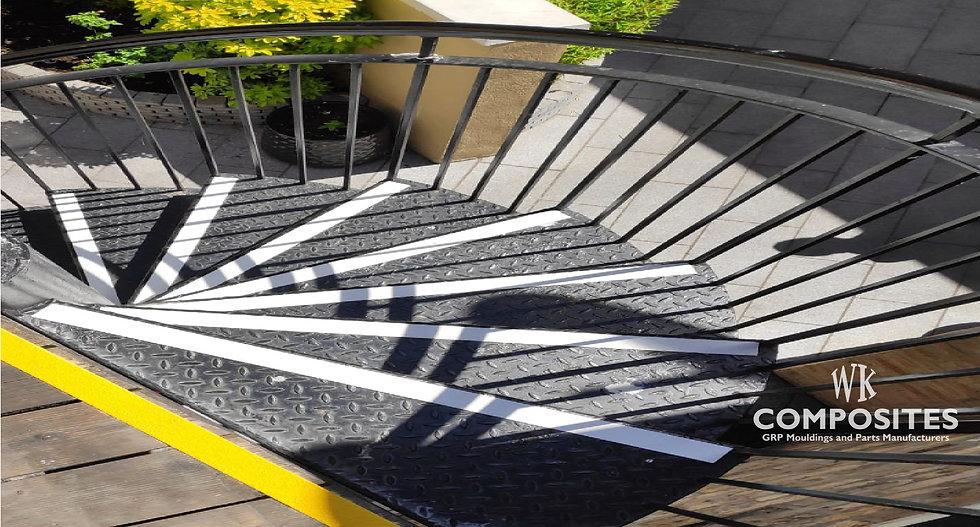GRP Anti Slip GRiP Decking Strips