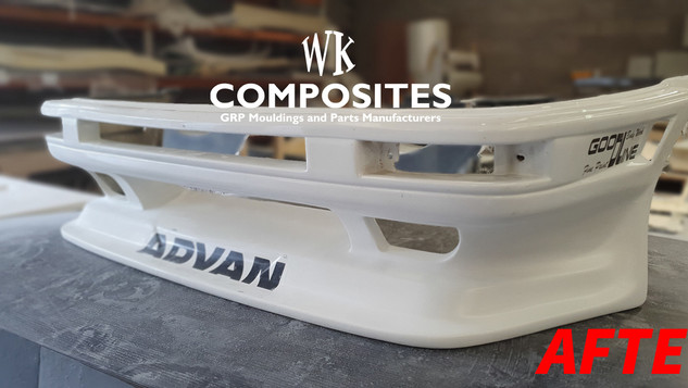 TOYOTA AE86 FRONT BUMPER REPAIR AFTER 1.
