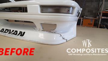 TOYOTA AE86 FRONT BUMPER REPAIR BEFORE 1