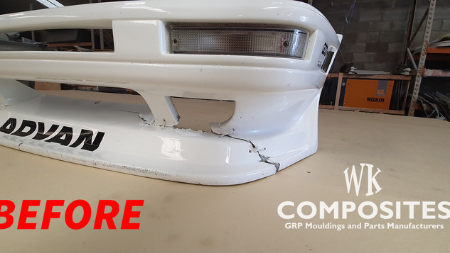 TOYOTA AE86 FRONT BUMPER REPAIR BEFORE 1
