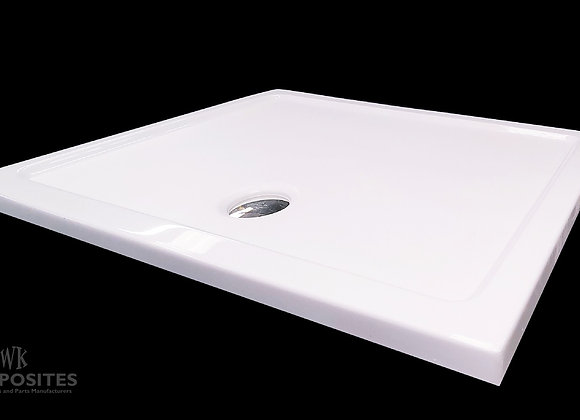 Low Profile Rectangle Shower Tray 1200x900