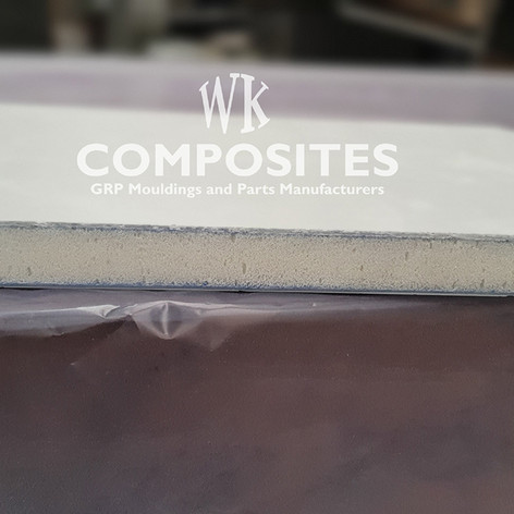 WK COMPOSITES GRP PU SANDWICH PANEL 22mm
