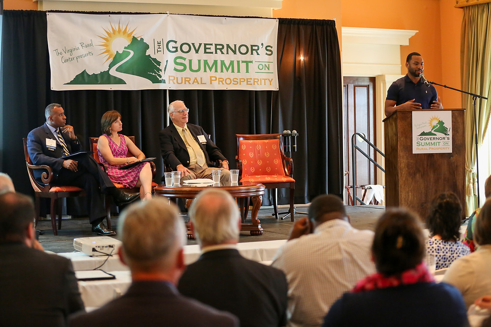 Panel discussion from the Governor's Summit on Rural Prosperity