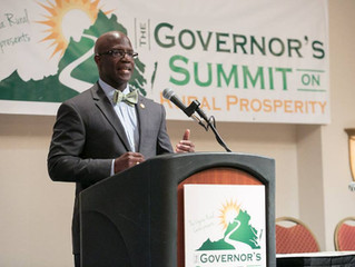 The Honorable Carlos Hopkins at the 2018 Governor's Summit on Rural Prosperity