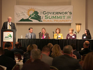 Workforce Development Panel at the 2018 Governor's Summit on Rural Prosperity