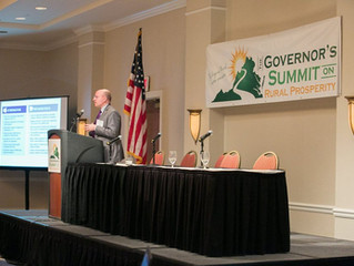 Stephen Moret, CEO of the Virginia Economic Development Partnership, at the 2018 Governor's Summit o