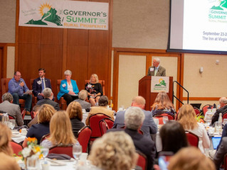 Entrepreneurs at the 2019 Governor's Summit on Rural Prosperity