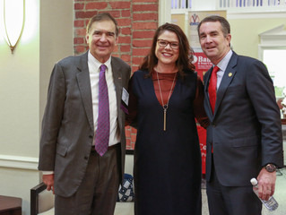 Governor Ralph Northam at the 2018 Governor's Summit on Rural Prosperity