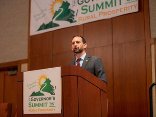 Natural Resources and Workforce Solutions at the 2019 Governor's Summit on Rural Prosperity