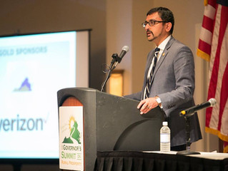The Honorable Atif Qarni at the 2018 Governor's Summit on Rural Prosperity