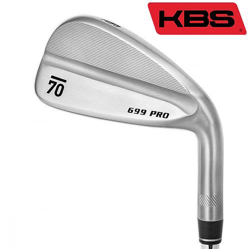 Sub70 699 Pro Irons KBS Shafts
