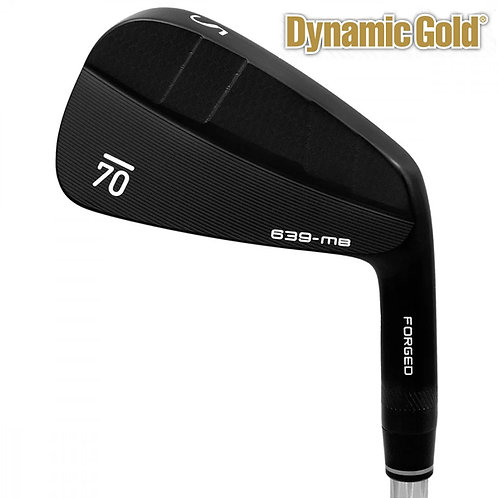 Sub70 639 MB Forged Black Irons Dynamic Gold