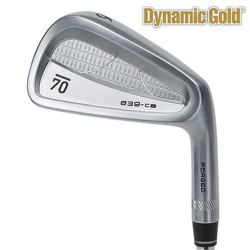Sub70 639 CB Forged Irons Dynamic Gold Shafts