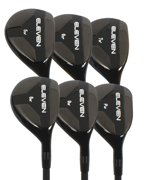 Eleven Hybrid Irons 5-PW
