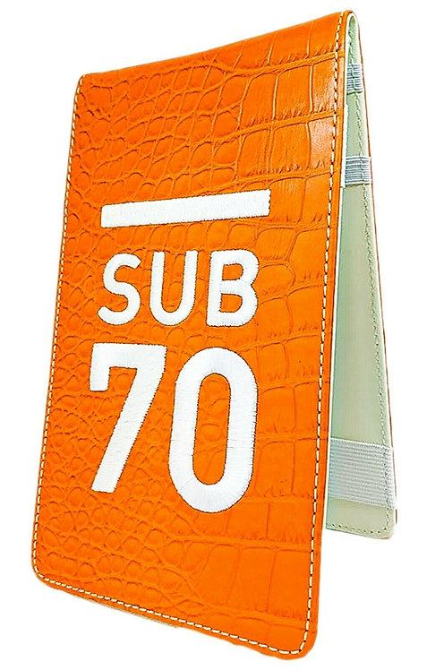 Sub70 Tour Classic Yardage Book Scorecard Holder