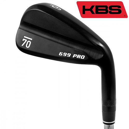 Sub70 699 Pro Black Irons KBS Shafts