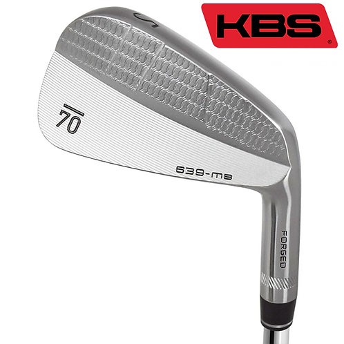 Sub70 639 MB Forged Irons KBS Shafts
