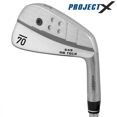 Sub70 649 MB Tour Forged Irons Project X Shafts