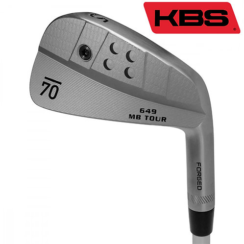 Sub70 649 MB Tour Raw Forged Irons KBS Shafts