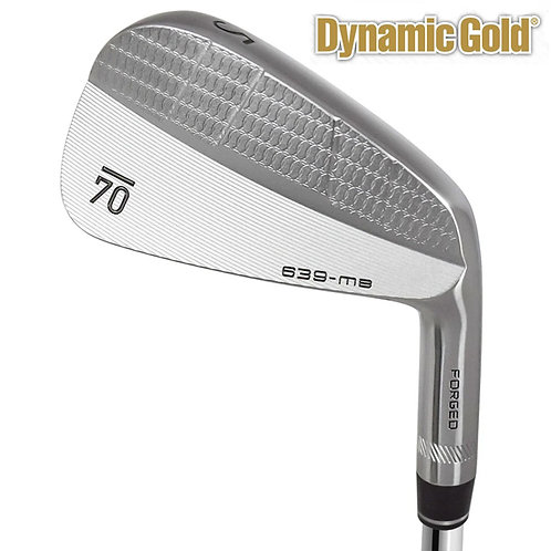Sub70 639 MB Forged Irons Dynamic Gold