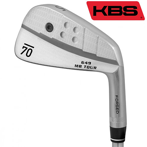Sub70 649 MB Tour Forged Irons KBS Shafts