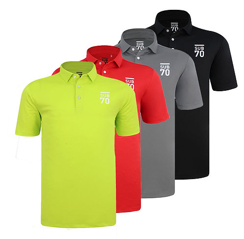 SUB70 Tour Classic 2.0 Golf Polo Shirt