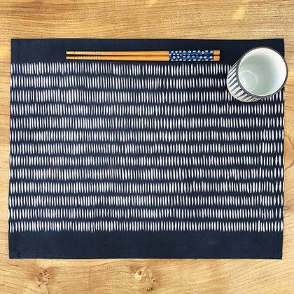 Tatami Table Mat - Navy